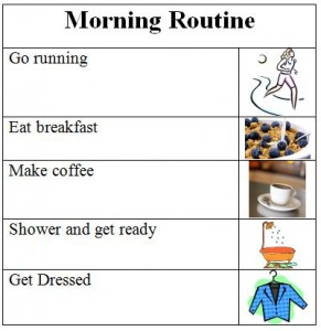 Adult Morning Routine