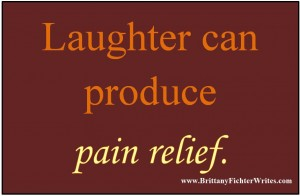 Laughter Produces Pain Relief