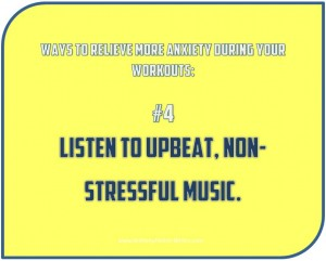 Relieve More Stress Workout Tips 4